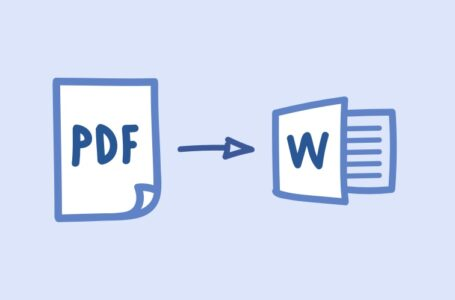 How Can I Convert My PDF To Word