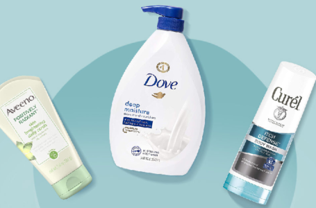 Which shower gel is suitable for dry skin